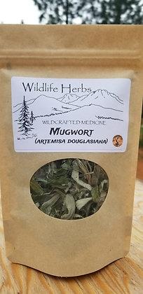 Mugwort: Dried Herbs 1.5 oz