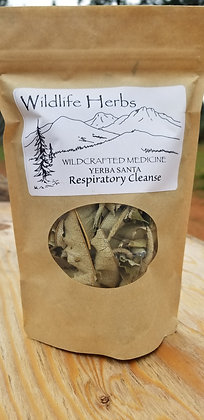 Yerba Santa: Dried Herbs 2 oz