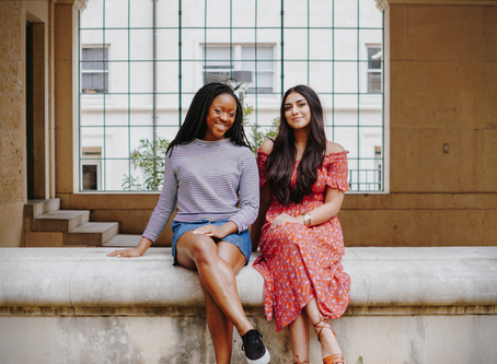 Guneez & Hannah: All-female Student Government ticket