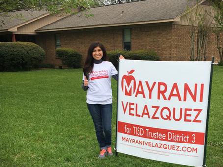 Mayrani Velazquez: Instilling the value of education in Terrell ISD
