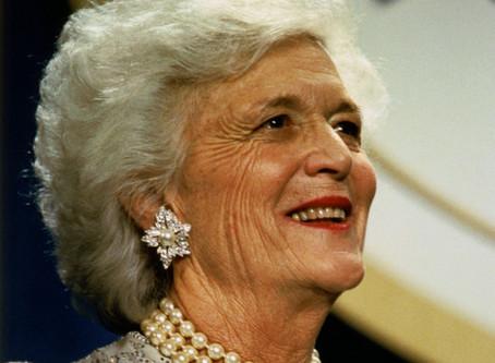 Former First Lady Barbara Bush: A Tribute