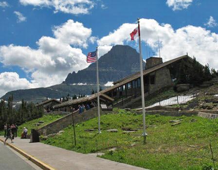 Logan Pass Visitor Center, Glacier National Park
