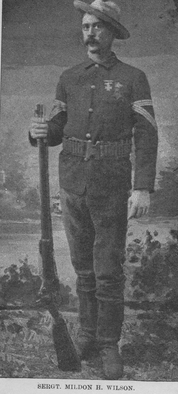 Sgt. Milden H. Wilson
