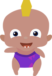 Baby Momo Front-Laughing 2.png