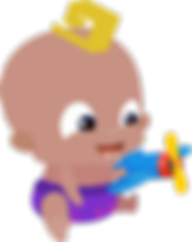 Baby Momo with airplane (1 v).png
