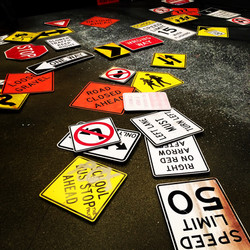 Street Signs (Detail)