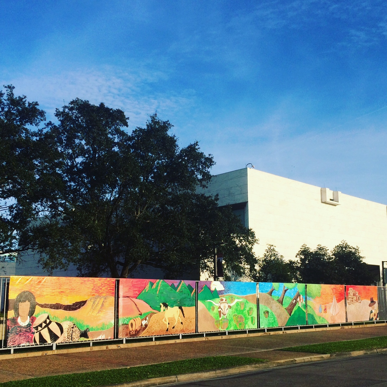 American West Community Kids Mural