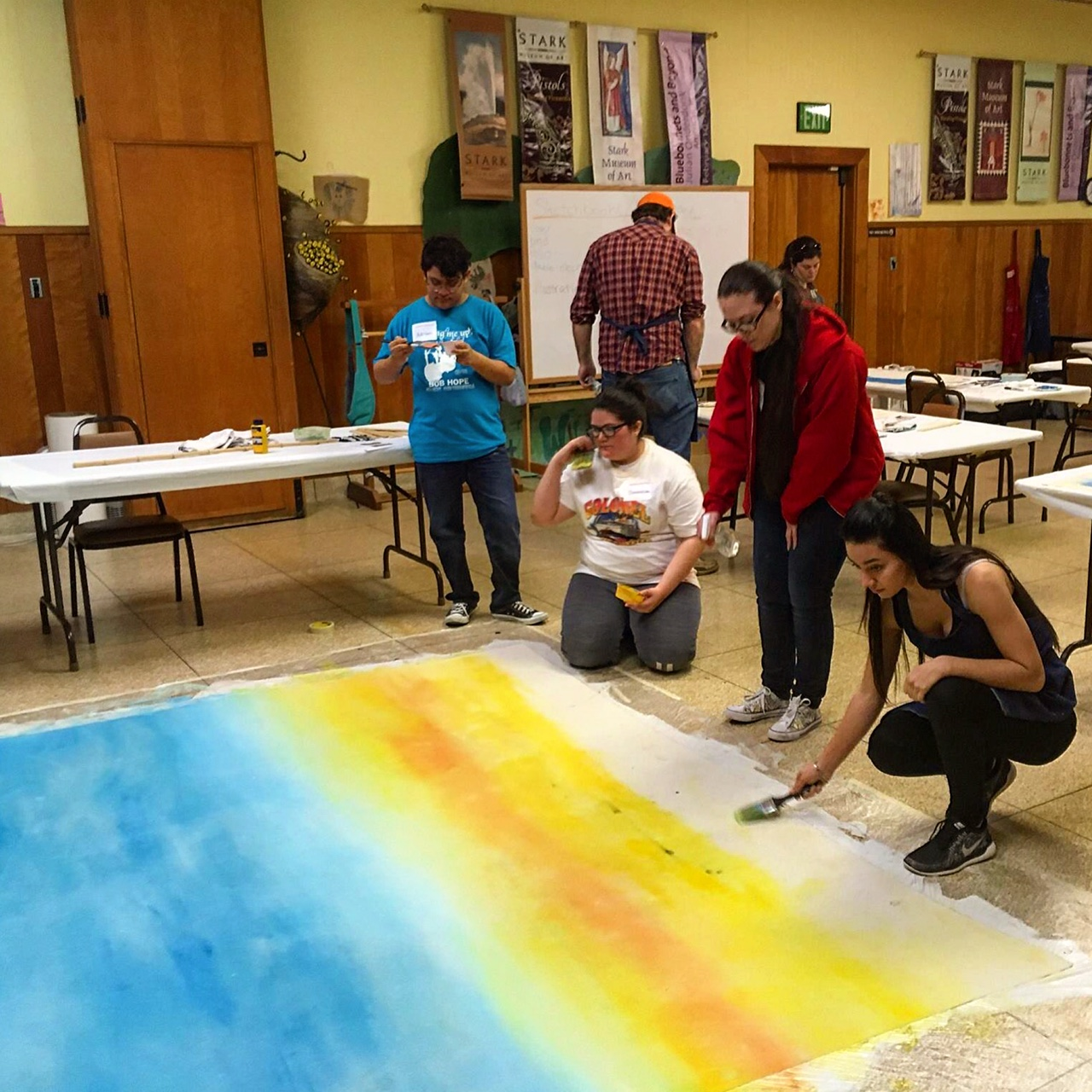 High School Scenic Painting Workshop