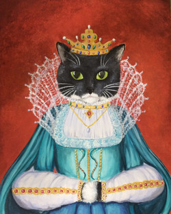 Her Meowjesty Queen Lucy