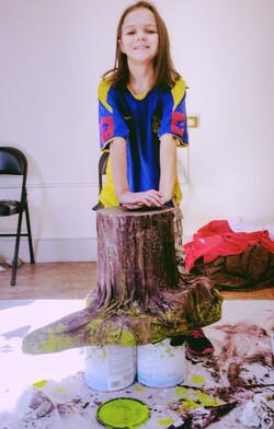 Standable Tree Stumps