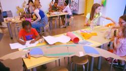 Kids Team Up For Art