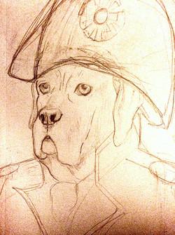 General Gemma (Process Sketch)