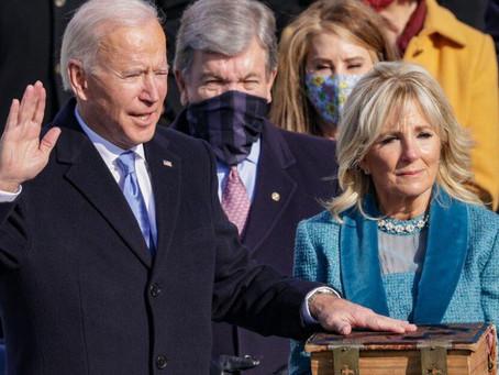 Biden's Inauguration – A Triumph Amid Challenges (#130)