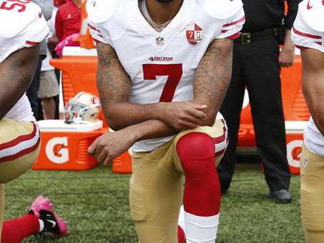 Kaepernick Takes-A-Knee, Trump Takes On The Constitution (#49)