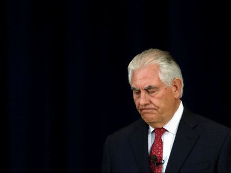 The Hollowing-Out of Rex Tillerson (#61)