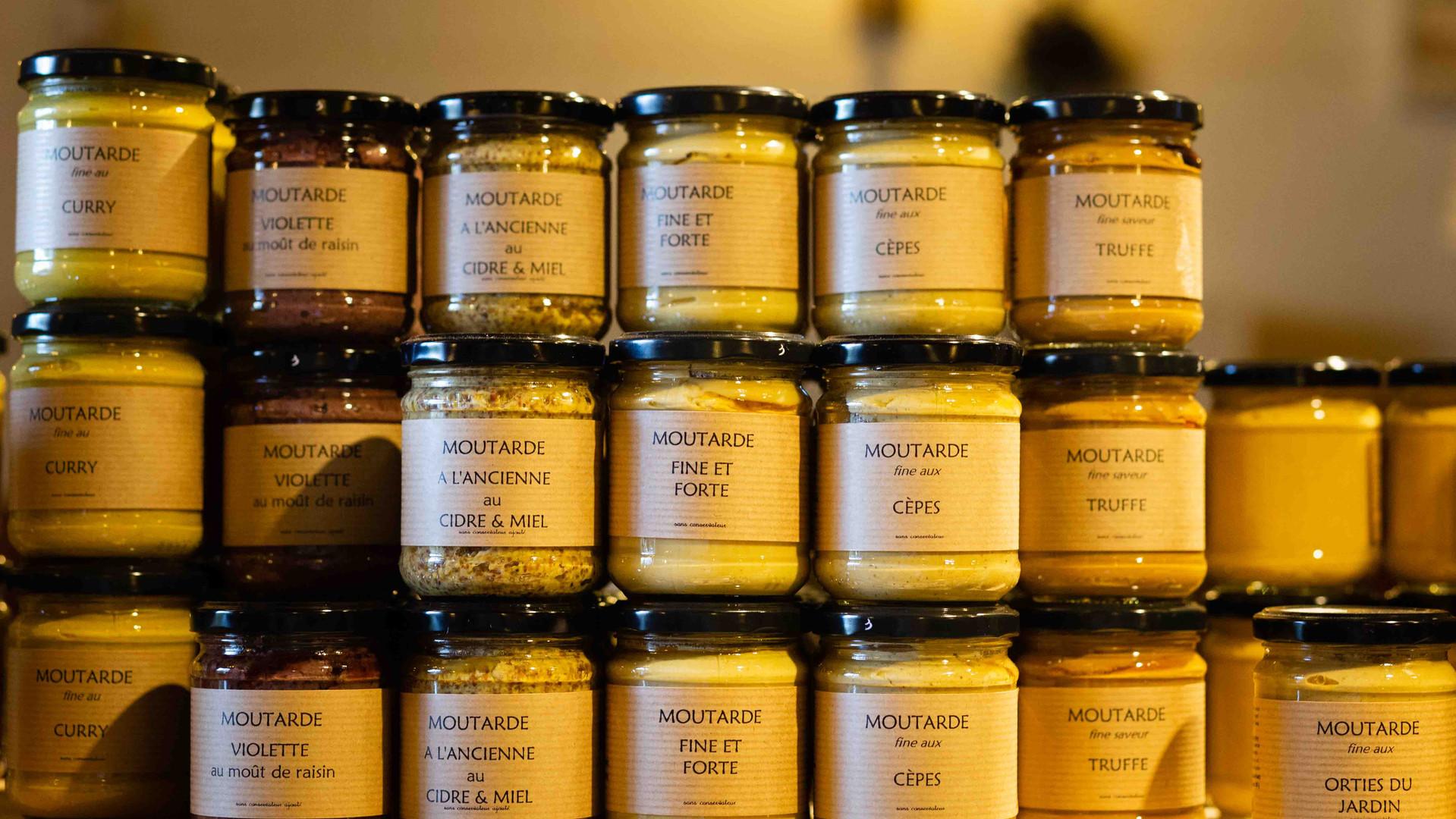 Moutarde artisanale