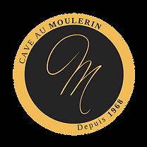[Original size] CAVE AU MOULERIN  logo v