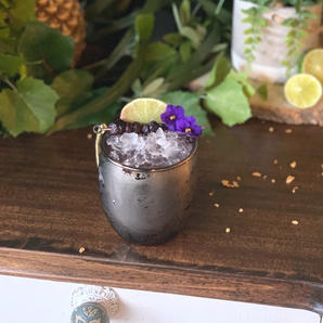Blueberry Agave Mule