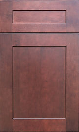 Brazilian red stain cabinet