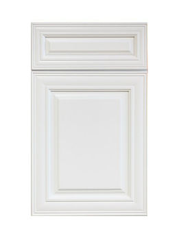Classic white designer cabinet