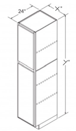 2 DOOR PANTRY CABINET - UC1896