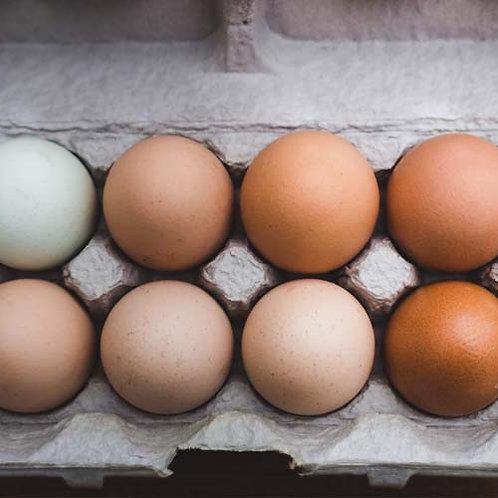 A Dozen Pastured Perfect Eggs