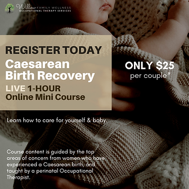 Ceasarean Birth Recovery Sample Ad.png