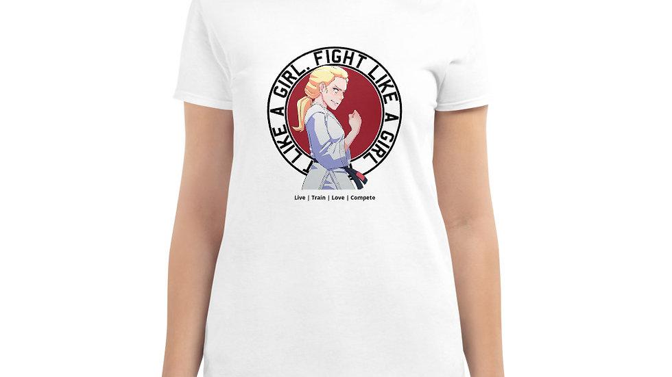 FLAG Plain Women's T - White