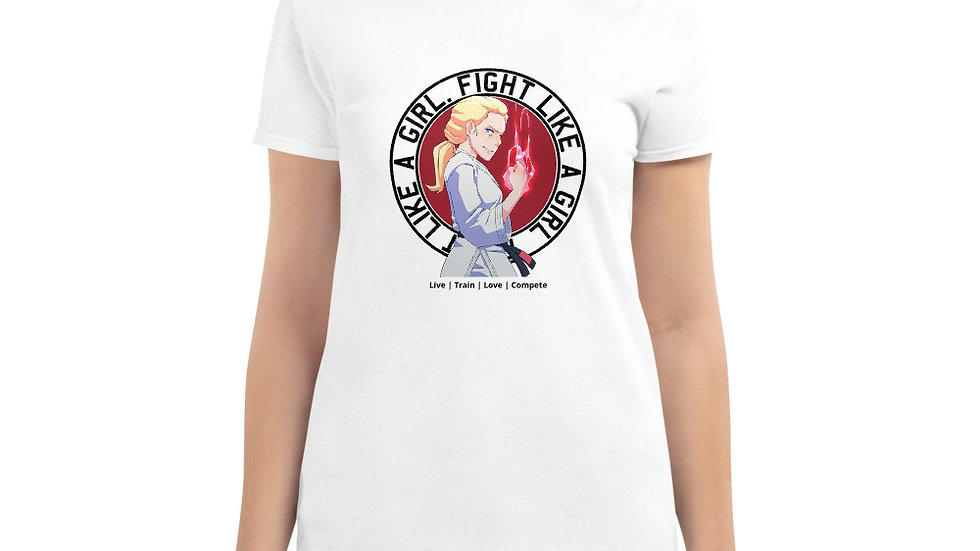 FLAG Plain Women's T - Powerful White