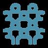 blue crowd icon