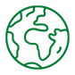 green planet earth icon