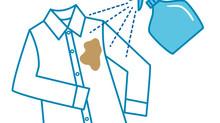 衣類への除菌スプレーにご注意下さい