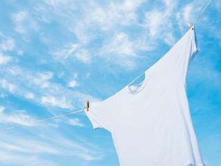 垂水クリーニングの衣類うんちくエトセトラ「洗濯しわを減らす干す時のポイント」