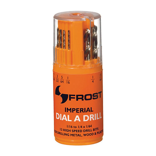 Frost 13pce Jobber Drill Set