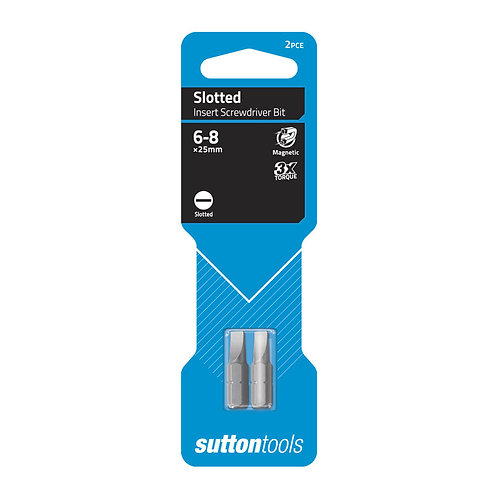 Sutton Tools Slotted Insert Bit