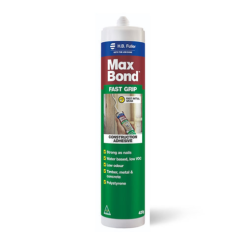 H.B. Fuller Max Bond Fast Grip Construction Adhesive 420g