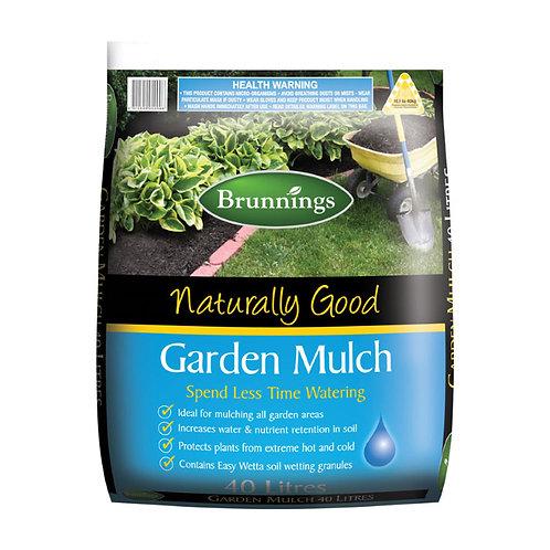 Brunnings Easy Wetta Garden Mulch 25L