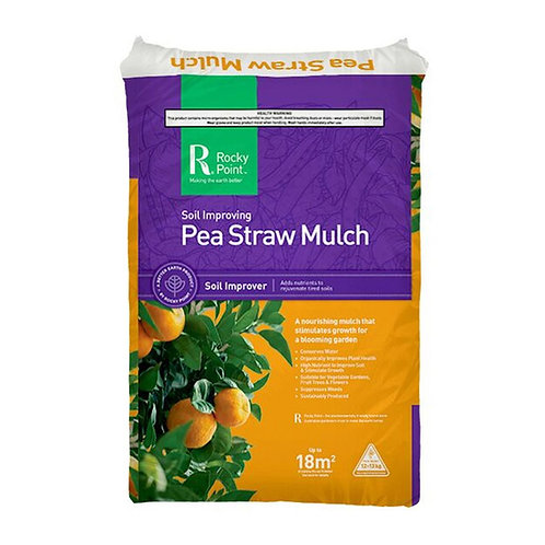 Rocky Point Pea Straw Mulch Soil Improver