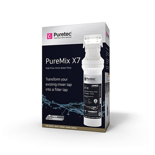 Puretec PureMix X7 High Flow Mixer Tap Filter System