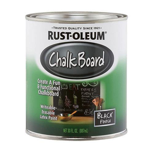 Rust-Oleum Chalkboard Brush-On Paint 887mL