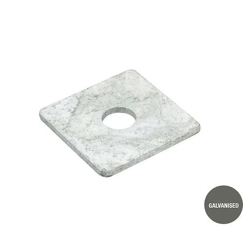 Galvanised Square Washer