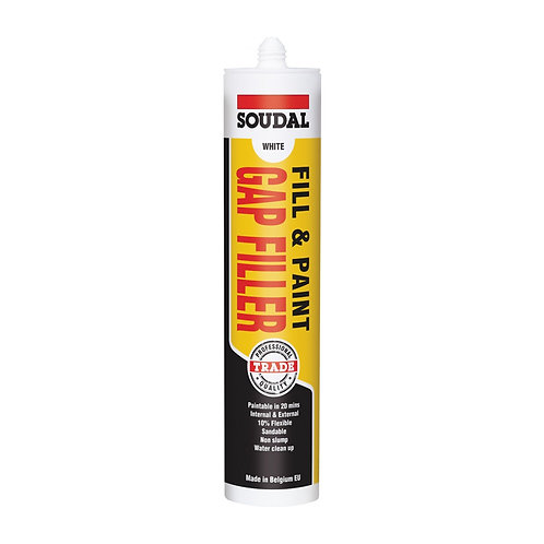 Soudal Fill & Paint Gap Filler 300mL