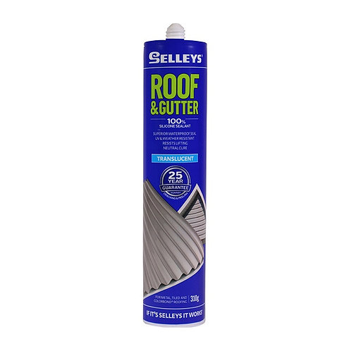 Selleys Roof & Gutter Silicone 310g