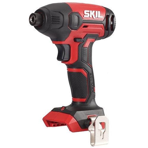 "SKIL 20V 1/4"" Hex Cordless Impact Driver Skin"