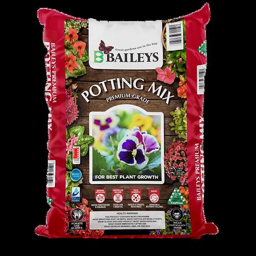 Baileys Premium Potting Mix 50L