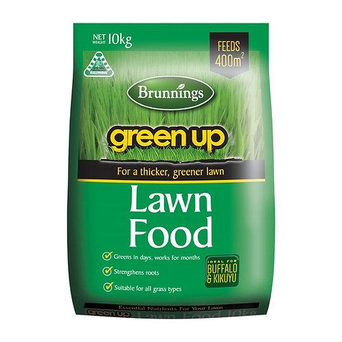 Brunnings Green Up Lawn Food 10kg
