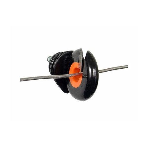 Gallagher 25pk Wood Post Screw-in Ring Insulator