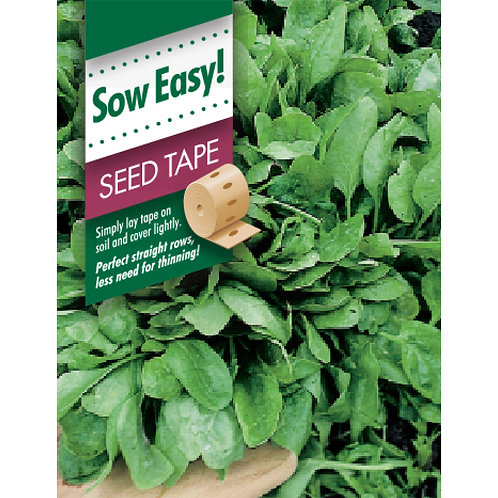 Mr. Fothergill's Packet Seeds Spinach Viking Seed Tape