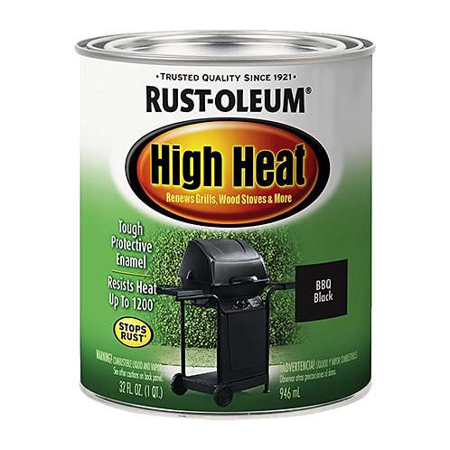Rust-Oleum High Heat Brush-On Paint 946mL