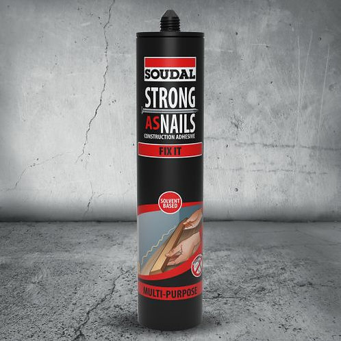 Soudal Strong As Nails Adhesive Fix It 350g